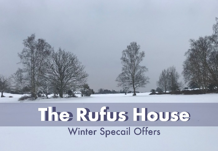 Winter Special Offers New Forest